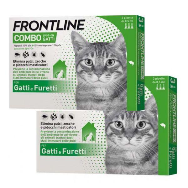 Frontline combo per gatti (2 confezioni)
