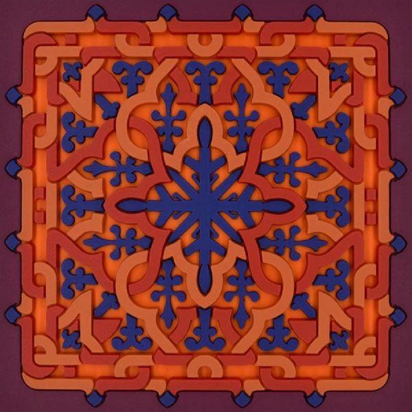 Sottobicchiere vagabonde crochet velours