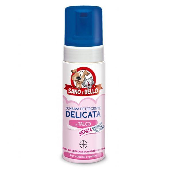 Schiuma detergente delicata per cuccioli sano e bello ml. 150