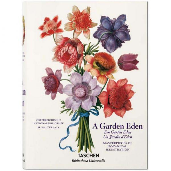 Garden eden. masterpieces of botanical illustration