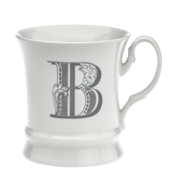 Letter mug b