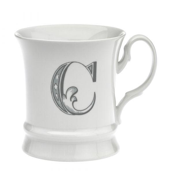 Letter mug c