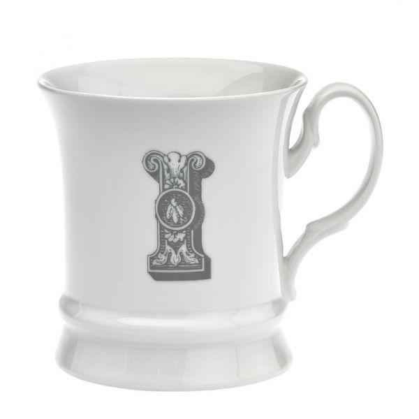 Letter mug i