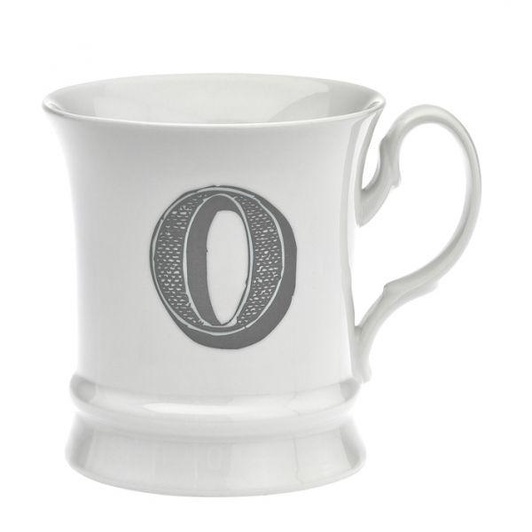 Letter mug o