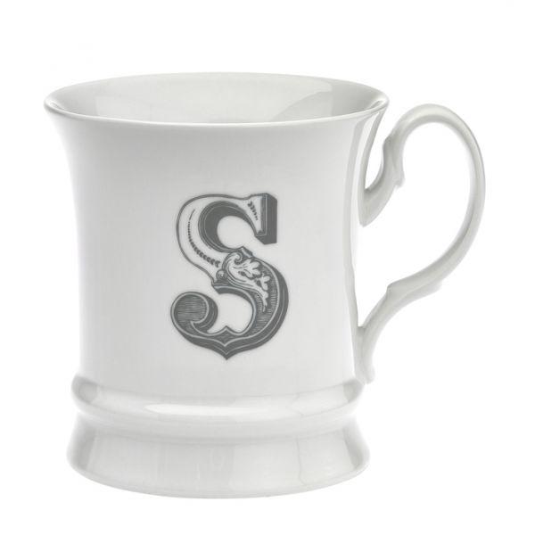Letter mug s