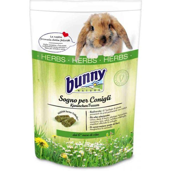 Sogno per conigli alle erbe 1,5 kg