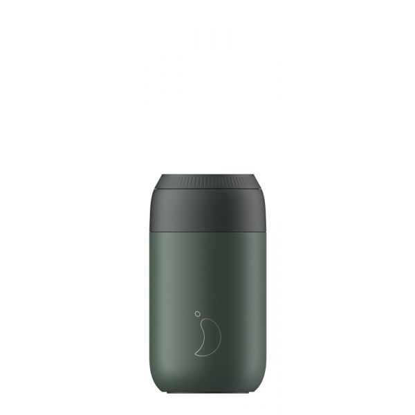 Pine green 340 ml coffee cup