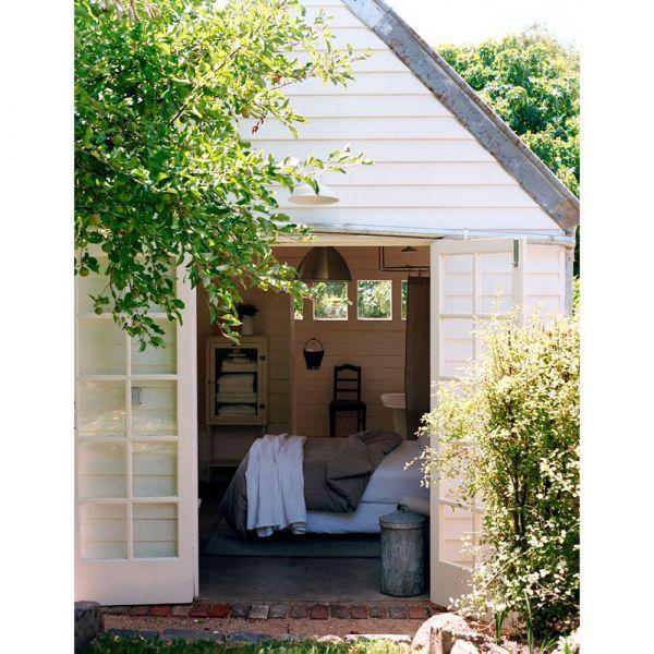 Shed decor. un rifugio in mezzo al verde