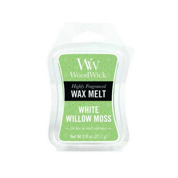 Waxmelt white willow moss