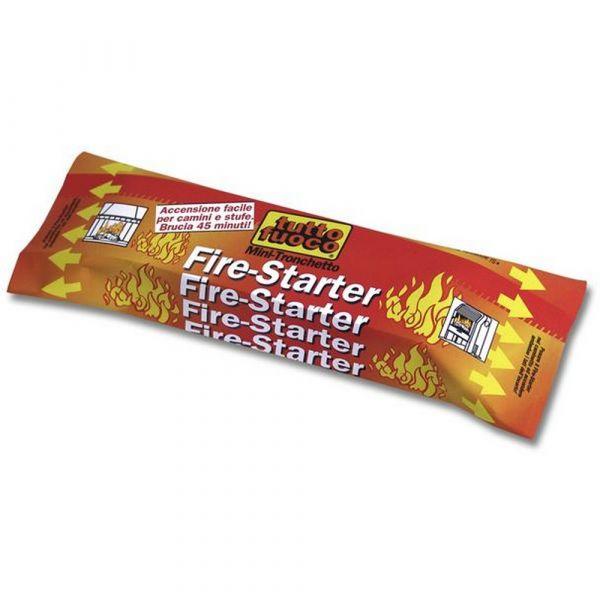 Mini tronchetto fire starter