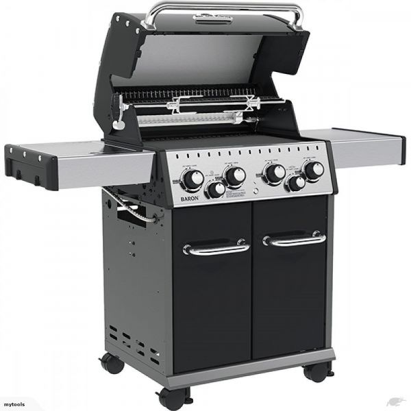 Barbecue baron 490 broil king a gas