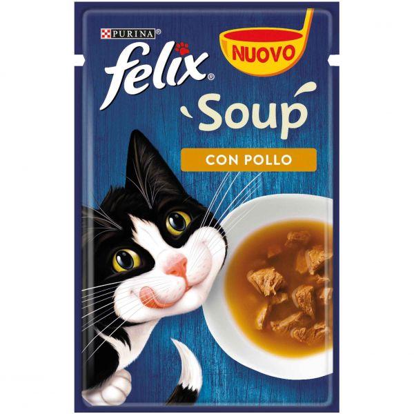 Felix soup pollo da 48g