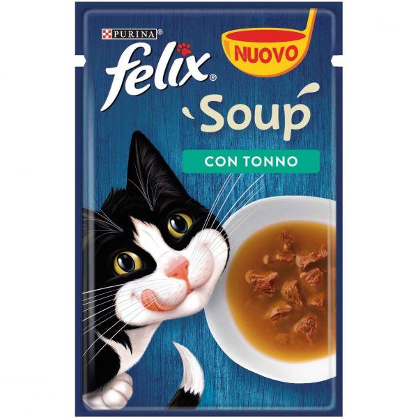 Felix soup tonno da 48g