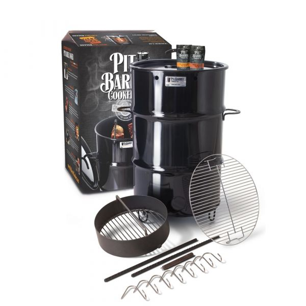Barbecue affumicatore pit barrel cooker a carbonella