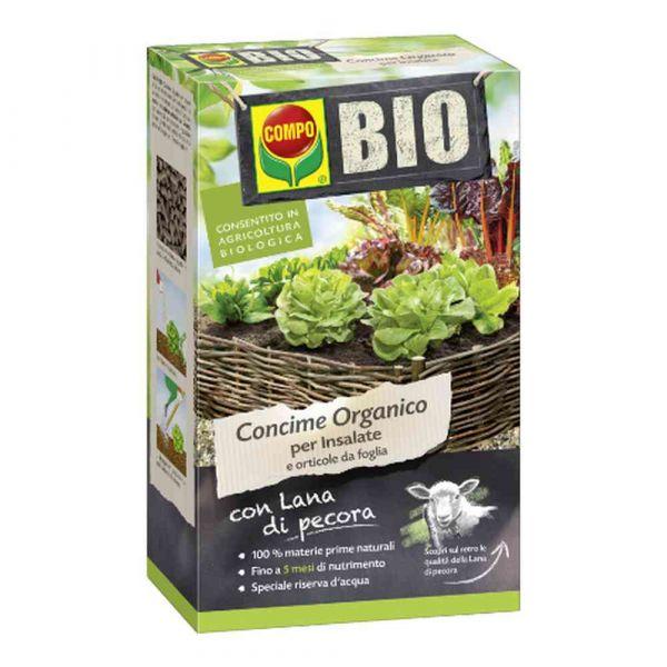 Fertilizzante compo bio lana di pecora per insalate 750g