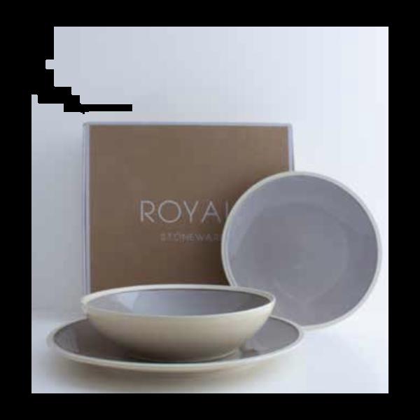 Plate Royal Stone grey   Livellara