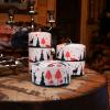Candela natalizia Agricola Renne 110x100 cm
