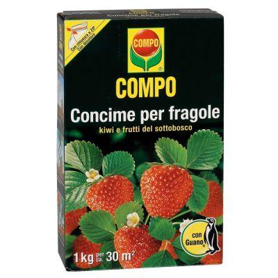 Concime granulare compo per fragole con guano 1kg