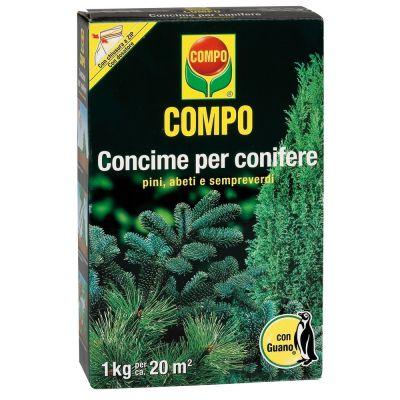 Concime granulare compo per conifere con guano 1kg