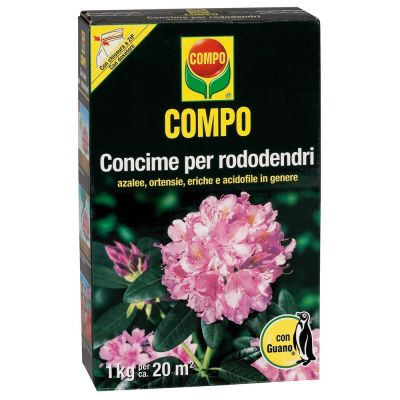 Concime granulare compo per rododendri con guano 1kg