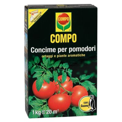 Concime granulare compo per pomodori con guano 1kg
