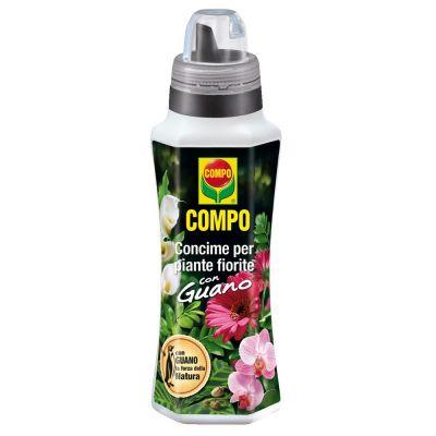 Concime liquido compo per piante fiorite con guano 1lt