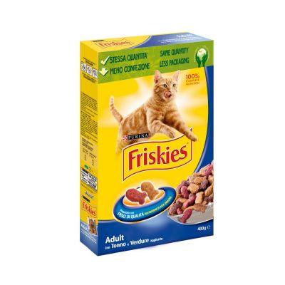 Friskies adult con tonno e verdure aggiunte secco gatto gr. 400