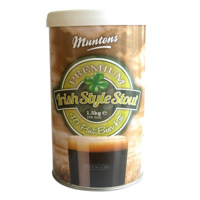 Malto amaricato muntons premium irish style stout kg. 1,5