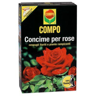 Concime granulare compo per rose con guano kg. 3
