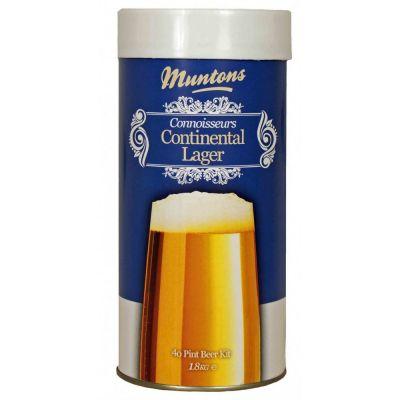 Malto maricato muntons conn. range continental lager kg. 1,8