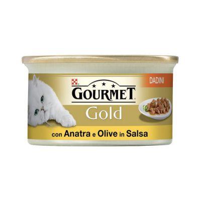 Gourmet Gold Anatra e Olive umido gatto 85 g