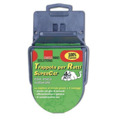 Supercat trappola per ratti grandi con esca naturale