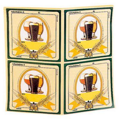 Etichette adesive per birra 100 pz