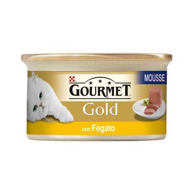 Gourmet gold mousse con fegato umido gatto gr. 85