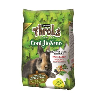Throls coniglio nano raggio di sole kg. 15