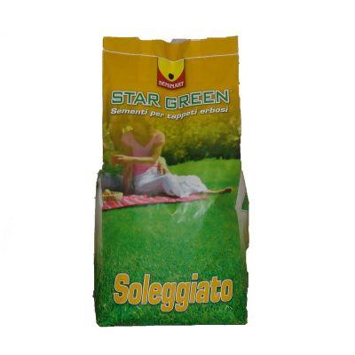 Miscuglio tappeti erbosi per terreni soleggiati b/s 101 kg.5