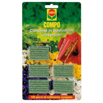 Fertilizzante compo in bastoncini universale 30 pz