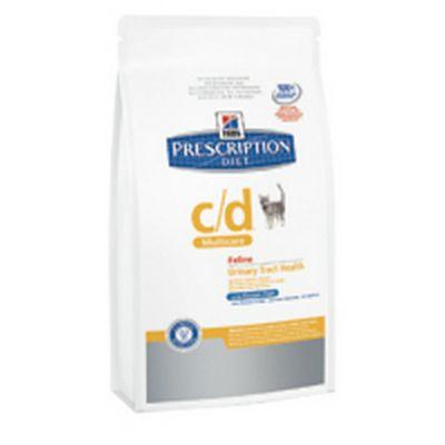 Hill's prescription diet c/d con pesce oceanico secco gatto kg. 5