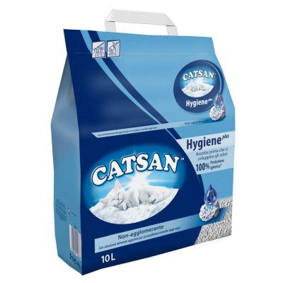 Lettiera igienica per gatti catsan lt. 10