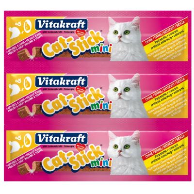 Cat stick mini pollo e fegato vitakraft 18gr