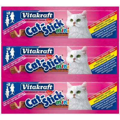 Cat stick mini merluzzo e tonno vitakraft 18gr