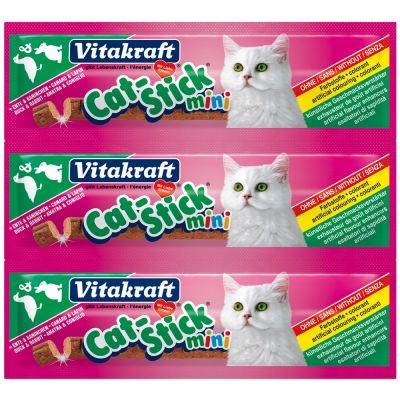 Cat stick mini anatra e coniglio vitakraft 18gr