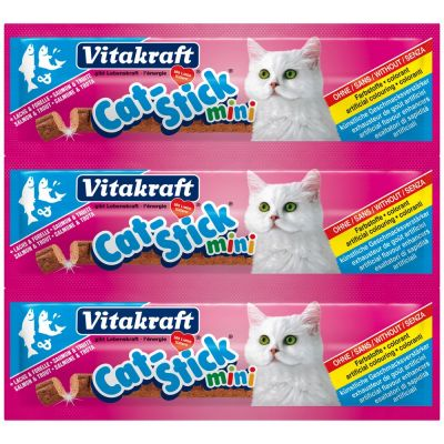 Cat stick mini salmone e trota vitakraft 18gr