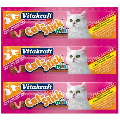 Cat stick mini tacchino e agnello vitakraft 18gr