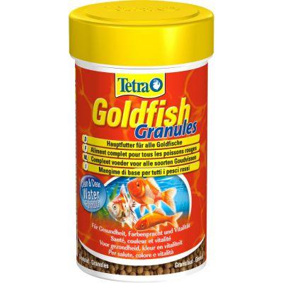 Mangime per pesci rossi tetra goldfish granules ml. 100
