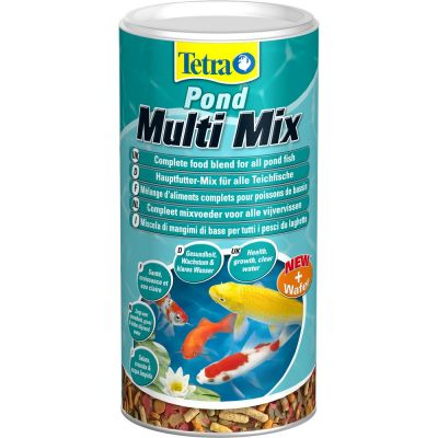 Mangime per pesci tetra pond multi mix lt. 1