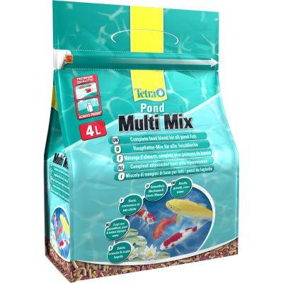 Mangime per pesci tetra pond multi mix lt. 4