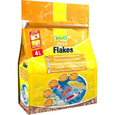 Mangime per pesci tetra pond flakes lt. 4