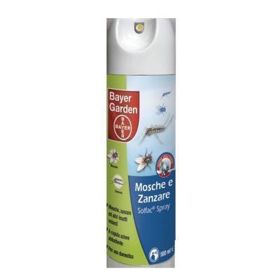 Insetticida solfac mosche e zanzare spray bayer ml. 500