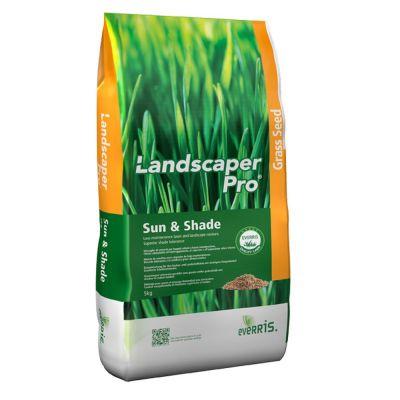 Semente per tappeti erbosi everris landscaper pro sun & shade kg. 5